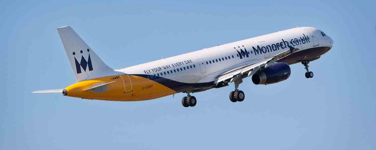 Il fallimento di un'altra compagnia aerea: la fine di Monarch Airlines