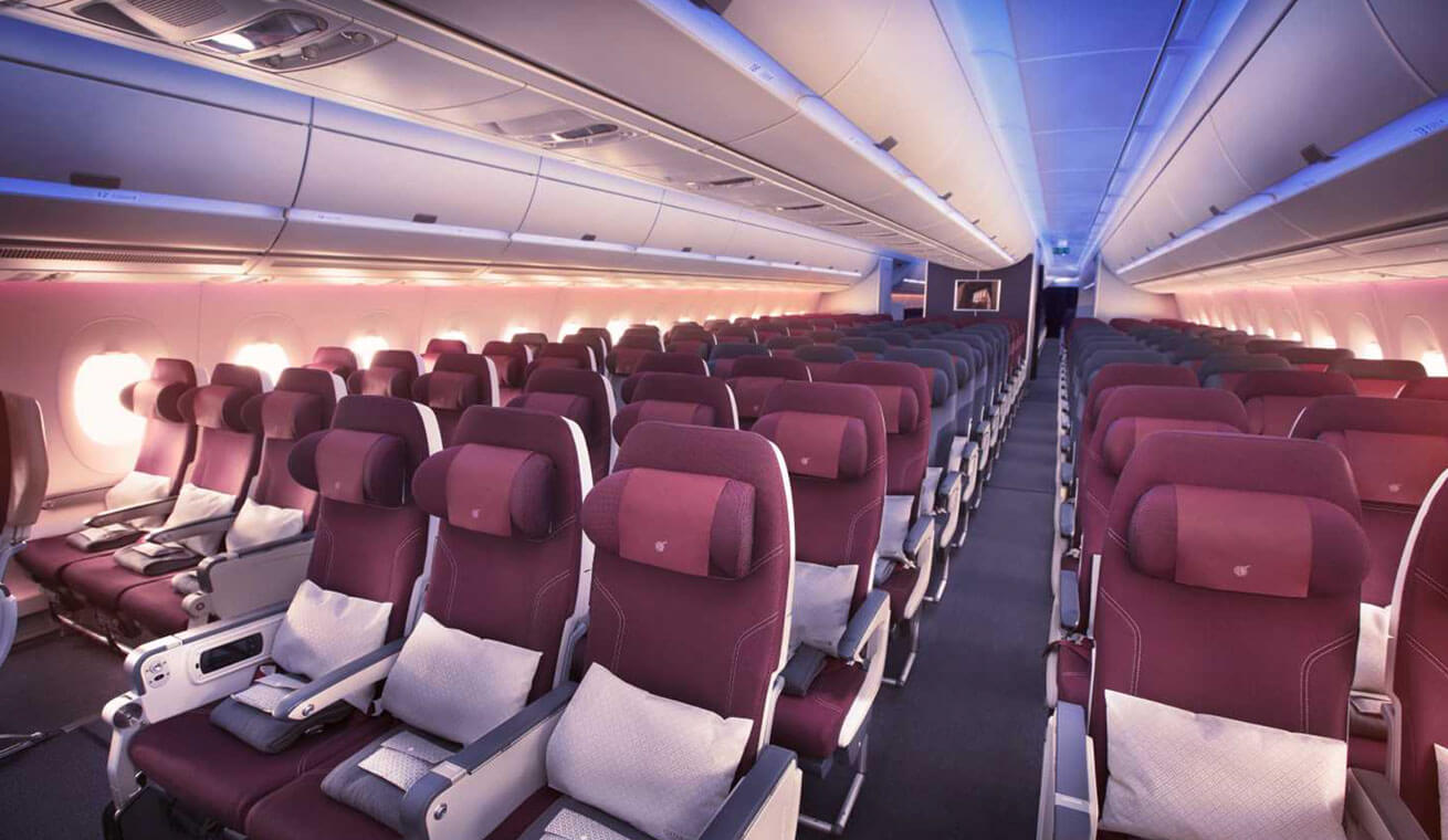 Discover the best 20 airline companies in the world for Interieur qatar airways