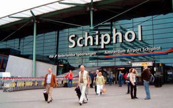 Schiphol airport the third busiest airport in Europe