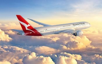First direct flight from London to Perth with Qantas airline