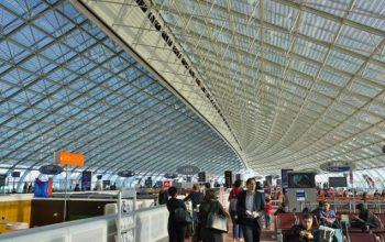 Il secondo aeroporto più trafficato d'Europa: Parigi Charles De Gaulle