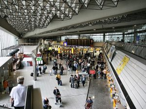 Busiest airports in Europe, the fourth one is in Frankfurt