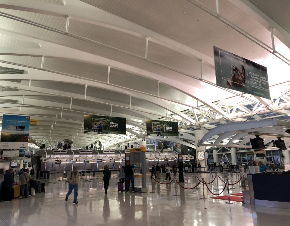 Airports in New York: my experience at JFK airport