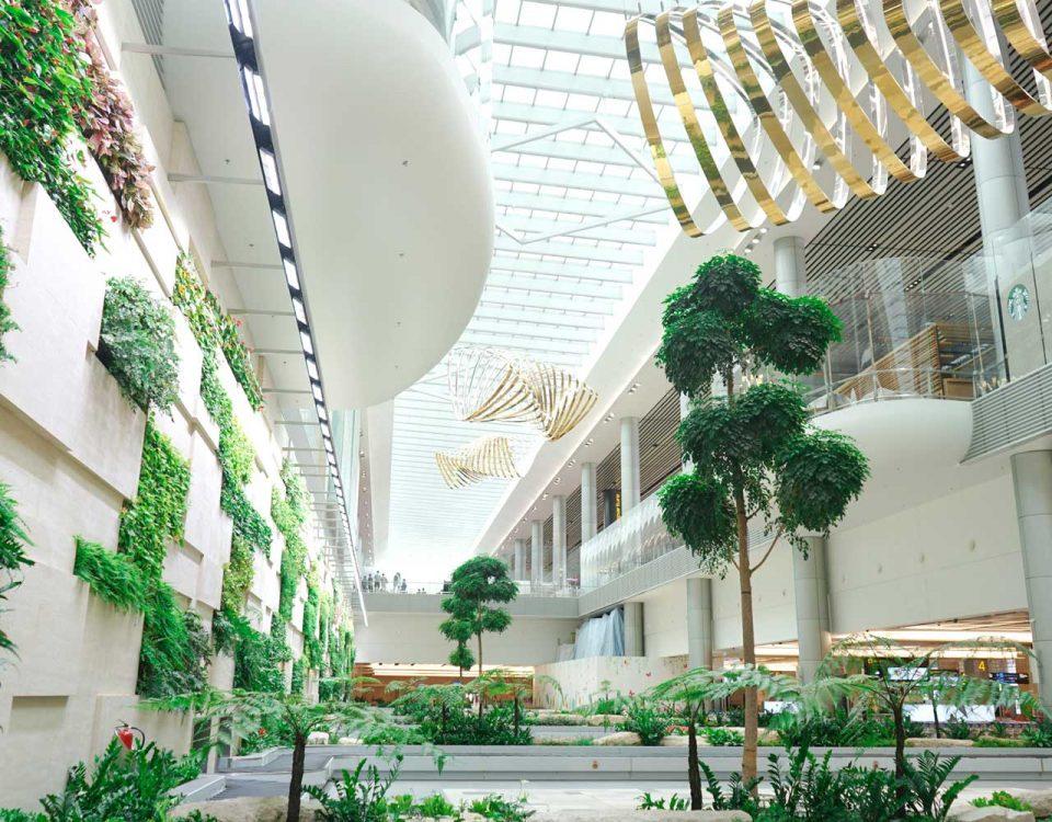 Singapore-Changi, ecco l'aeroporto più bello del mondo