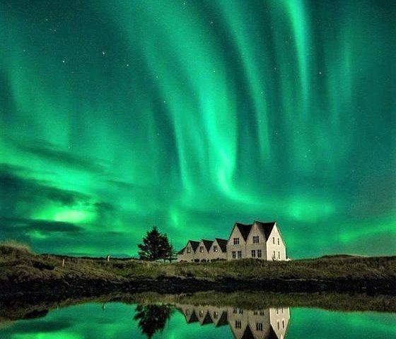 Alla ricerca dell'aurora boreale in Islanda