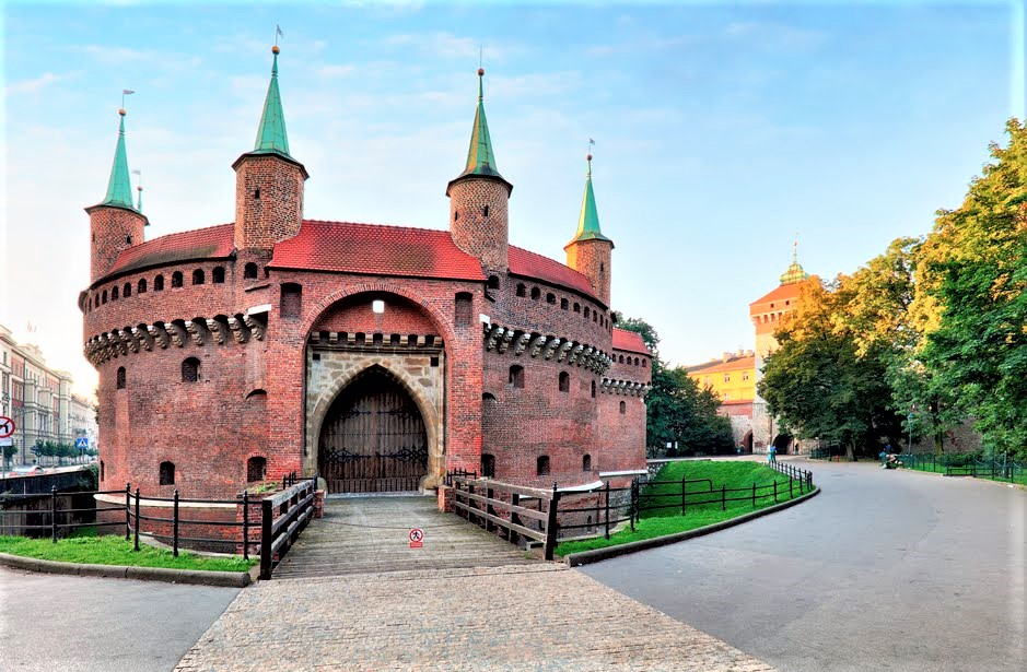 castello di Cracovia con giardino