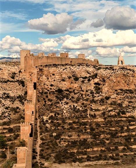 bellissimo paesaggio dell'Andalusia