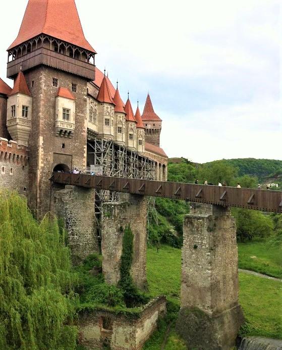 ingresso del castello di dracula