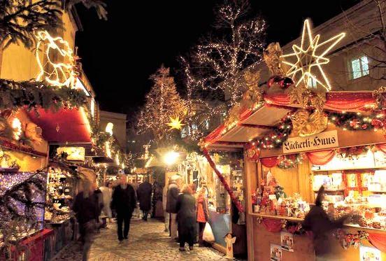 mercatino di natale tra le vie di Basilea