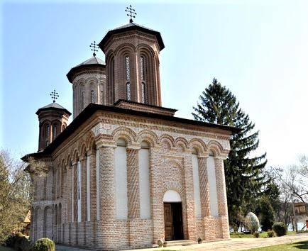 antico monastero in Transilvania