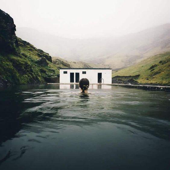 paesaggio termale in Islanda