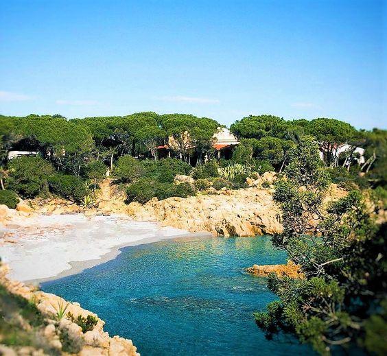 mare cristallino in Sardegna
