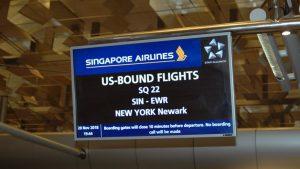 Il volo più lungo del mondo New York-Singapore: prime impressioni