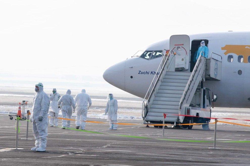 Controlli in aeroporto per coronavirus
